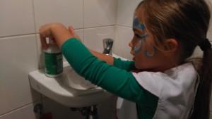 Handen wassen doen we vaak en graag, met dit product blijft de huid in goede conditie