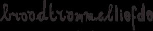 logo broodtrommelliefde