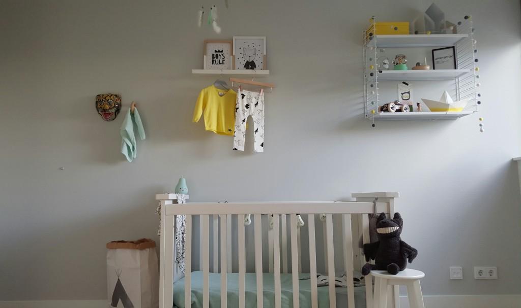 Babykamer In Nisje : Een kijkje in de babykamer van beau mama is thuis